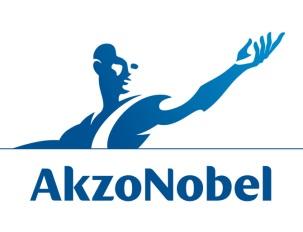 Logo van Akzo Nobel