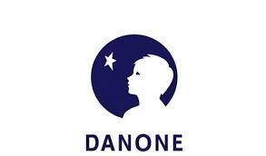 Logo van Danone