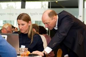 Tijdens het werken in teams was er ook ruimte voor individuele feedback door S&OP experts van Involvation zoals Hans van der Drift.